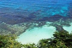 les eaux jamaïquaines Image stock