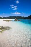 les eaux méridionales claires du Japon Image stock
