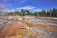 les eaux minérales Photographie stock