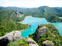 Les eaux neuves de Zeland Image libre de droits