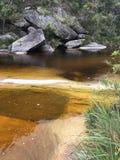 Les eaux paisibles Photos stock