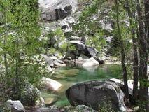 Les eaux paisibles Image stock