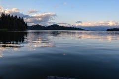Les eaux placides Photographie stock libre de droits