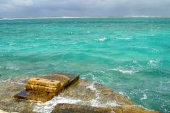 Les eaux préoccupées de la ressource Photographie stock libre de droits