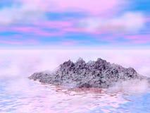 Les eaux rêveuses 3 Image libre de droits