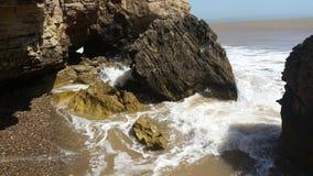 Les eaux rocheuses de HD images libres de droits
