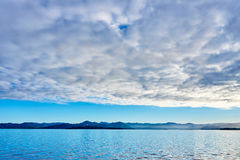 Les eaux silencieuses Photos stock