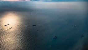 Les eaux soyeuses Photographie stock libre de droits