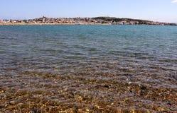 Les eaux transparentes de méditerranéen Images libres de droits