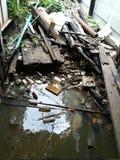 Les eaux usées  Photographie stock libre de droits