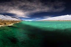 Les eaux vertes Images stock