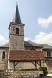 Les Echelles (Savoie, France), église image libre de droits