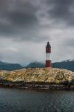 Les Eclaireurs latarnia morska, latarnia morska przy końcówką świat Zdjęcie Stock