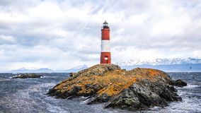 The Les Eclaireurs lighthouse Royalty Free Stock Image