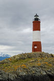 Les Eclaireurs Lighthouse, Ushuaia, Patagonia, Argentina Royalty Free Stock Images