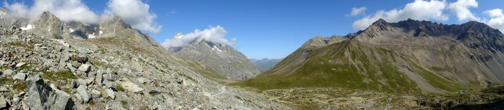Les Ecrins Royalty Free Stock Photo