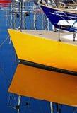 Les embarcations de plaisance Photo libre de droits