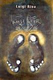 Les empreintes de pas de Riva Images stock