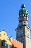 Les endroits d'Innsbruck image libre de droits