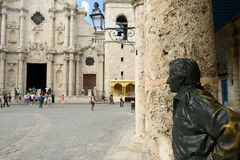 Les endroits de touristes les plus beaux à La Havane sur le Cuba Photographie stock libre de droits