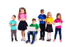 Les enfants avec des instruments Photographie stock libre de droits