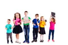 Les enfants avec des instruments Photos libres de droits