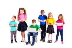 Les enfants avec des instruments Image stock