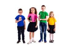 Les enfants avec des instruments Photo libre de droits
