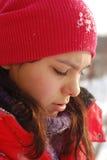 Les enfants se réjouissent à l'hiver venu Images libres de droits