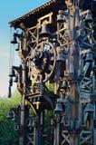 Les Epesses, Frankreich - September 8, 2018: Großartiges Glockenspiel Le, Musikzeigung in Puy du Fou lizenzfreie stockfotografie
