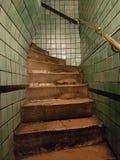 Les escaliers à l'aucun où photos stock