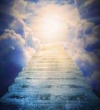 Les escaliers au ciel Photos stock