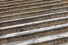 Les escaliers de l'église Nossa Senhora font Monte à Funchal, Madère, Portugal Image libre de droits