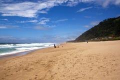 Les espaces ouverts chez Brighton Beach, Durban Afrique du Sud images libres de droits