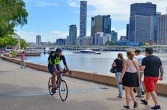 Les espaces verts du sud de banque - Australie de Brisbane Photos libres de droits