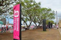 Les espaces verts du sud de banque - Australie de Brisbane Image stock