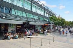 Les espaces verts du sud de banque - Australie de Brisbane Photo stock