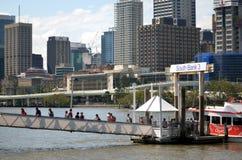 Les espaces verts du sud de banque - Australie de Brisbane Photographie stock libre de droits