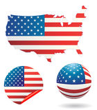 LES Etats-Unis illustration de vecteur