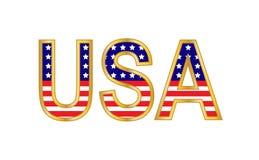 LES Etats-Unis Photo stock