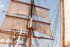 Les Etats-Unis, Etats-Unis, Amérique, la Californie, San Diego City, musée maritime, bateau à voile, Image libre de droits