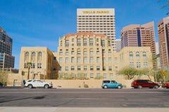 Les Etats-Unis, Arizona/Phoenix : Vieille ville hôtel Images stock