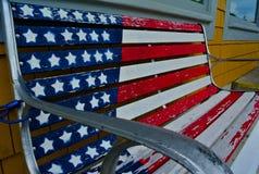 Les Etats-Unis Benchwork Image libre de droits