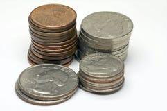Les Etats-Unis - Cents - 2 Photo stock
