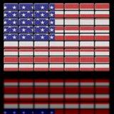 Les Etats-Unis d'Amérique Etats-Unis illustration stock