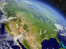 Les Etats-Unis de l'espace illustration libre de droits