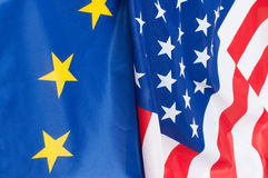 Les Etats-Unis et l'Europe Photos stock