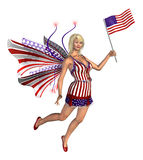 Les Etats-Unis féeriques Image libre de droits