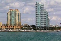 Les Etats-Unis, FloridaMiami - côte atlantique Photographie stock