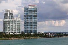 Les Etats-Unis, FloridaMiami - côte atlantique Photographie stock libre de droits
